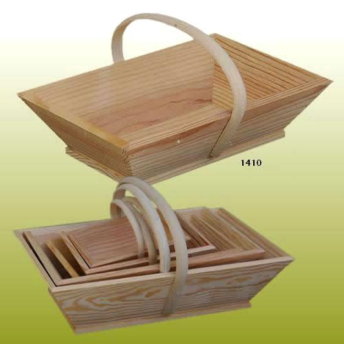 panier vendangeur en bois fabricant