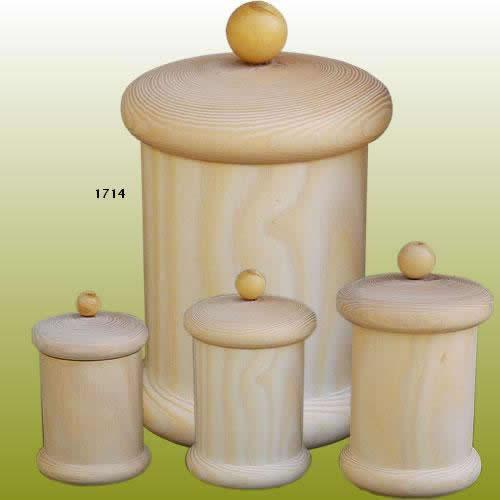 pot epices bois à personnaliser décorer