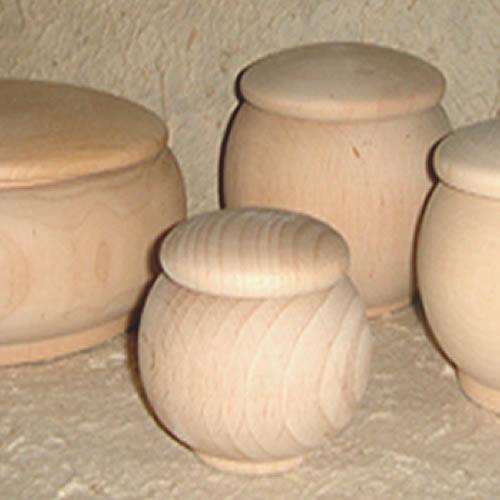 boites rondes en bois sur-mesure